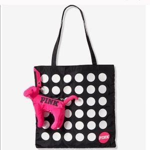 Foldable puppy tote